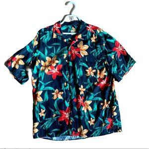 Jos. A. Bank tropical Hawaiian shirt size large